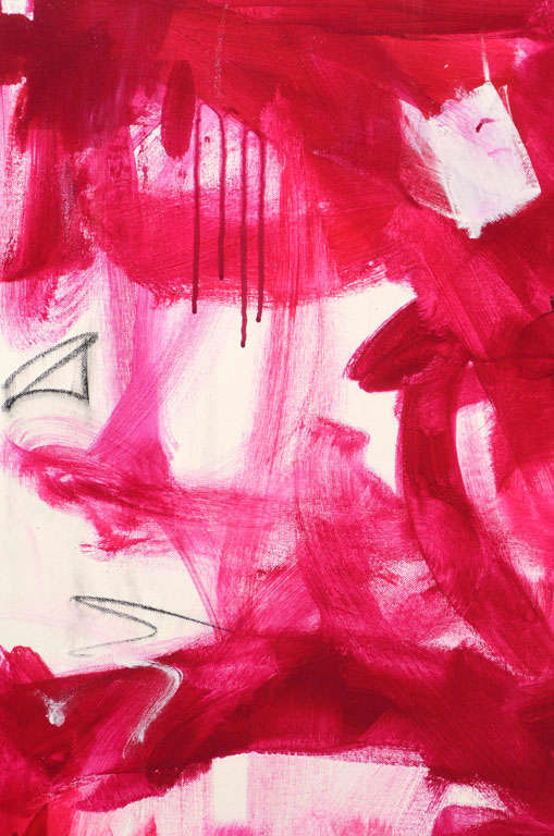 "Original Abstract by Karina Gentinetta, Signed (48"" x 48"") 4"
