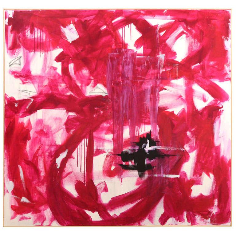 "Original Abstract by Karina Gentinetta, Signed (48"" x 48"") 1"