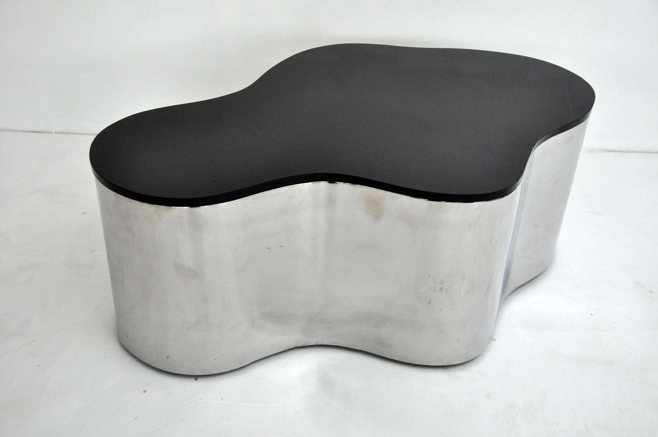 20th Century Free-Form Coffee Tables by Karl Springer For Sale