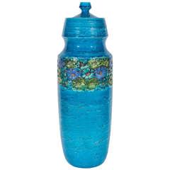 Rosenthal Netter Blue Ceramic Lidded Jar