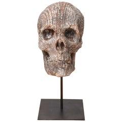 Raku Skull by Carlo Previtali
