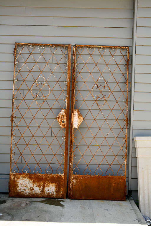 Pair of French Garden Gates For Sale 6
