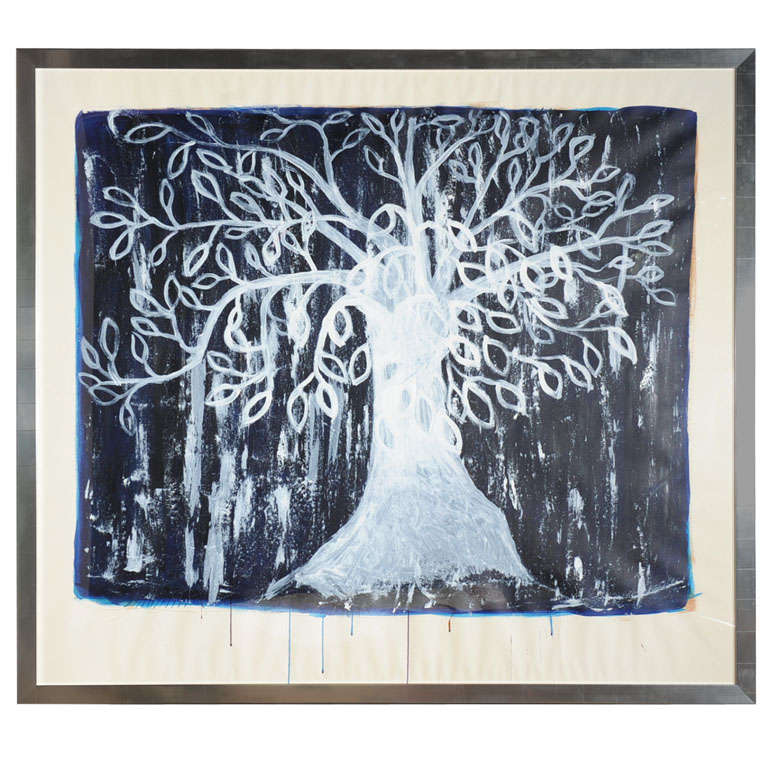 "Jmary - Painting, ""tree"""