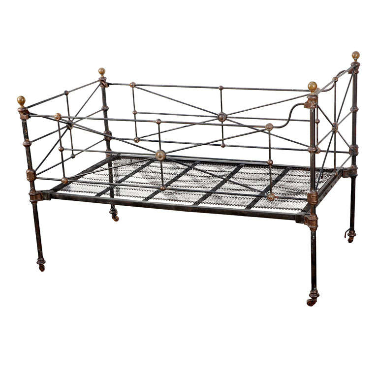 Antique Iron Bed Frame Parts : X g