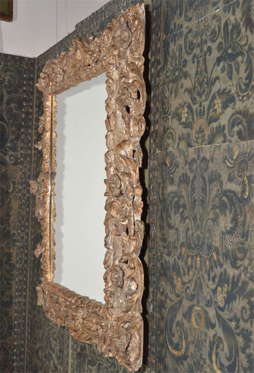 17th century italian baroque frame with mirror at 1stdibs for 17th century mirrors
