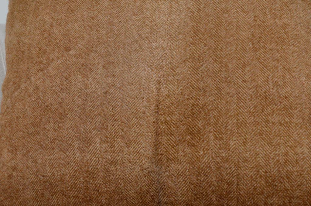 Herringbone Stenciled Cowhide Pillow 4