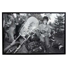Elizabeth Taylor at Malcom Forbes Far Hills New Jersey, 1988