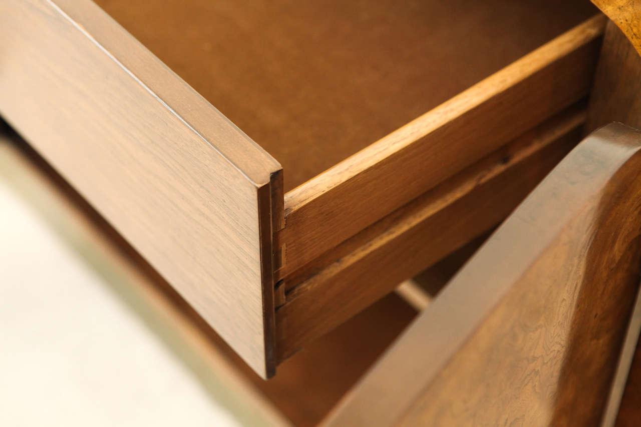 Burled Elmwood Cabinet by Mastercraft For Sale 6