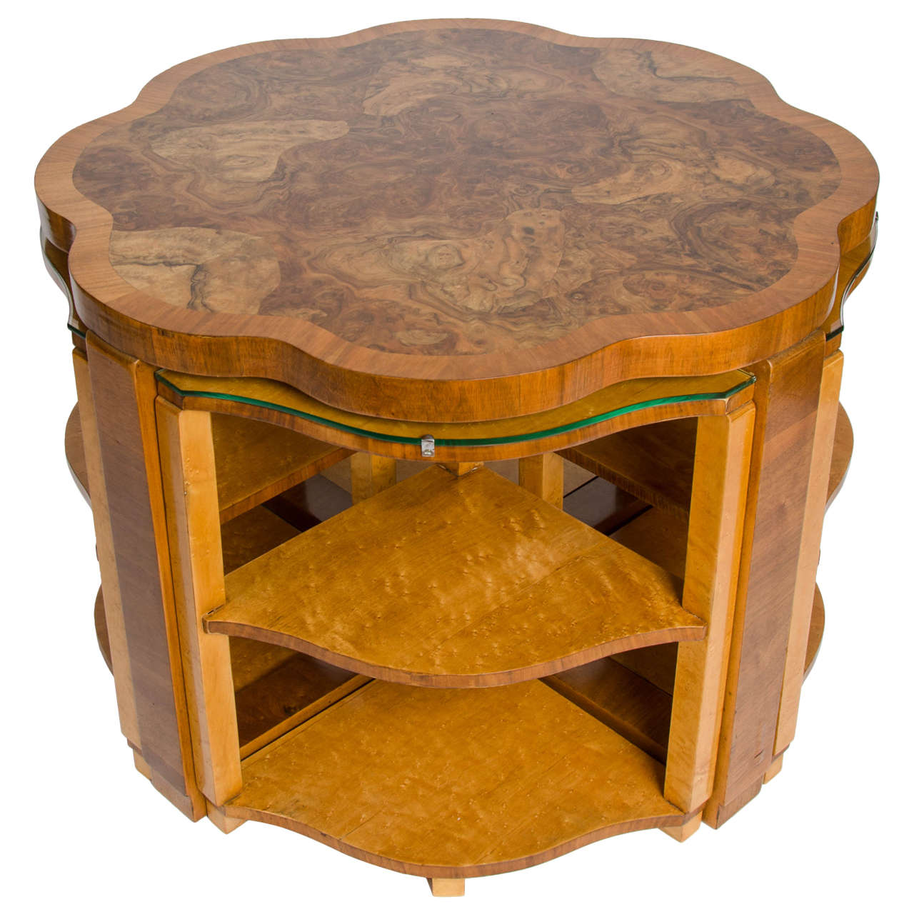 Art Deco Nest Of Tables At 1stdibs
