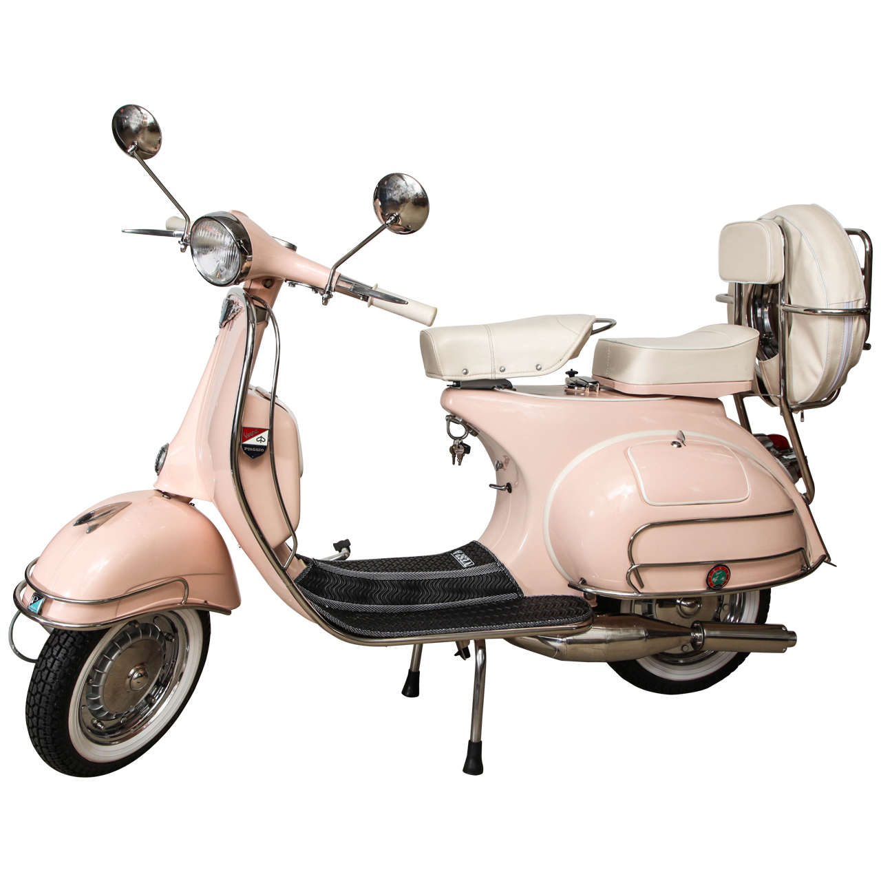 Restoring Antique Leather Fully Restored 1963 Pink With White Leather Vintage Italian