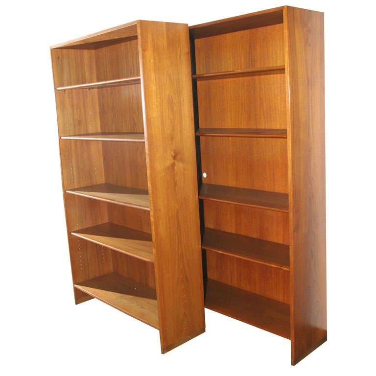 Teak Bookcase By Hans Wegner At 1stdibs