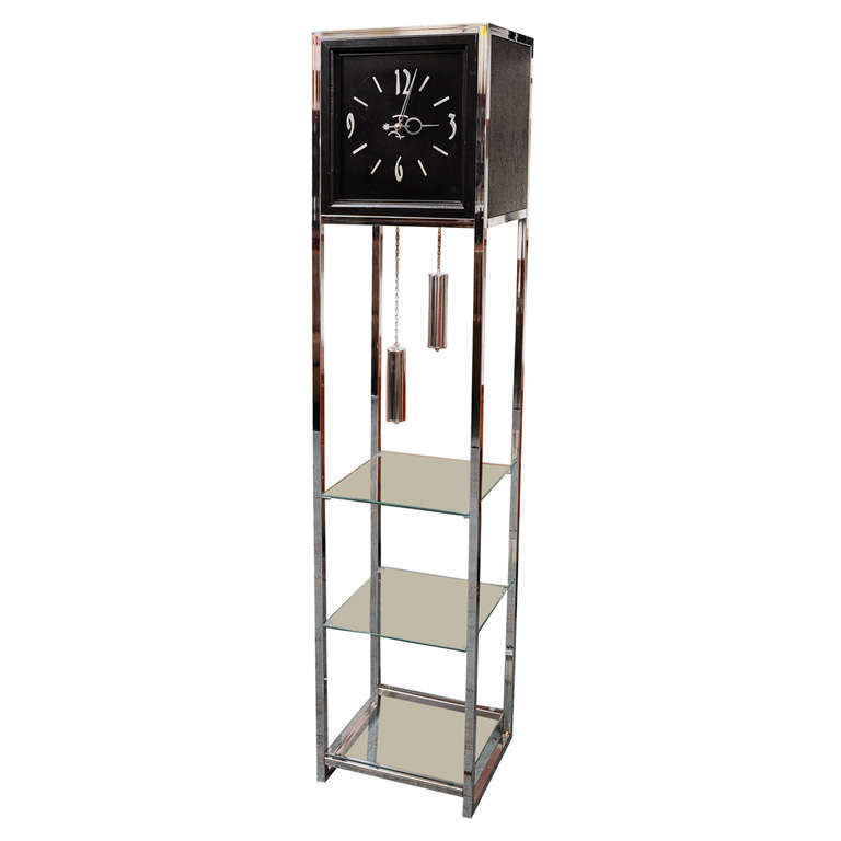 Modernist Grandfather Clock