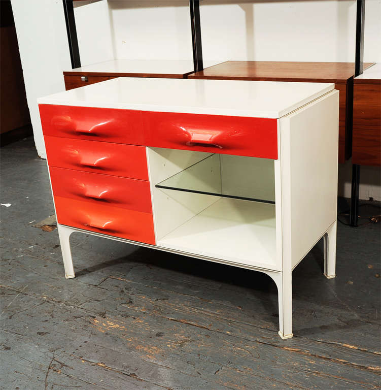 Raymond Loewy DF 2000 Desk Cabinet at 1stdibs