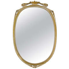 1940s Italian Gold Leaf Mirror Attributed to Paolo Buffa