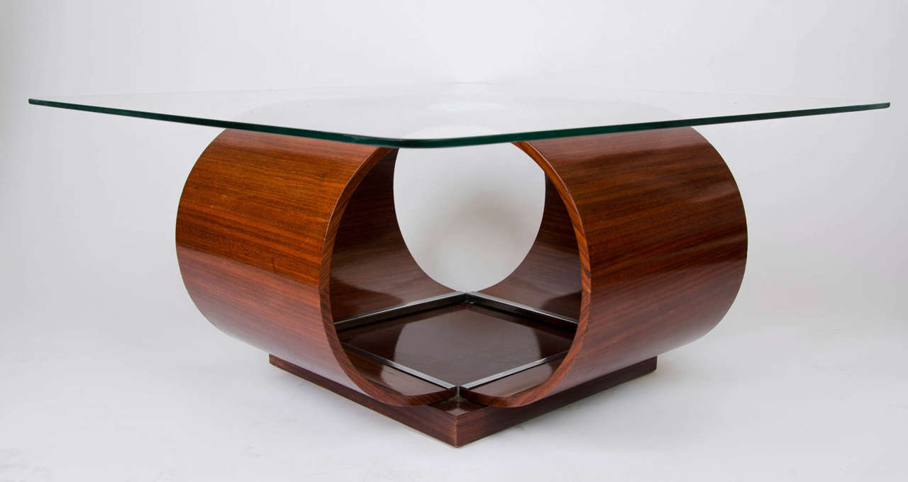 Italian Coffee Table, 1950's For Sale 6