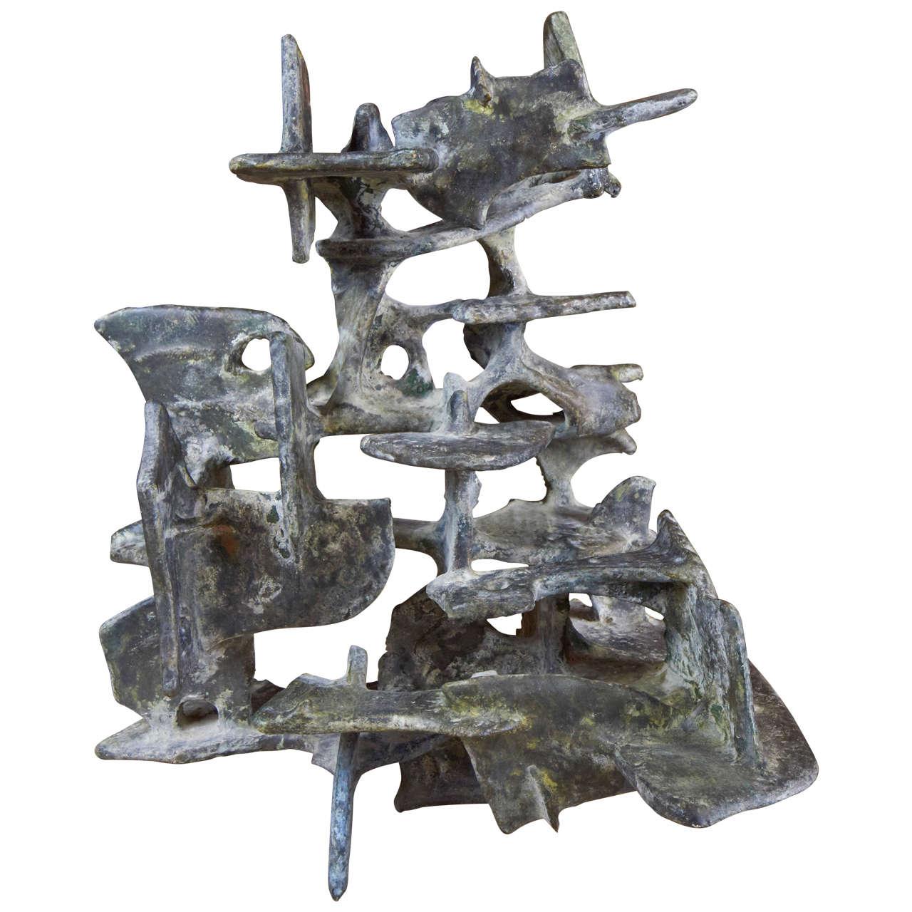 Marcello Fantoni Abstract Sculpture, 1975