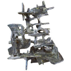 Marcello Fantoni Abstract Sculpture, 1975