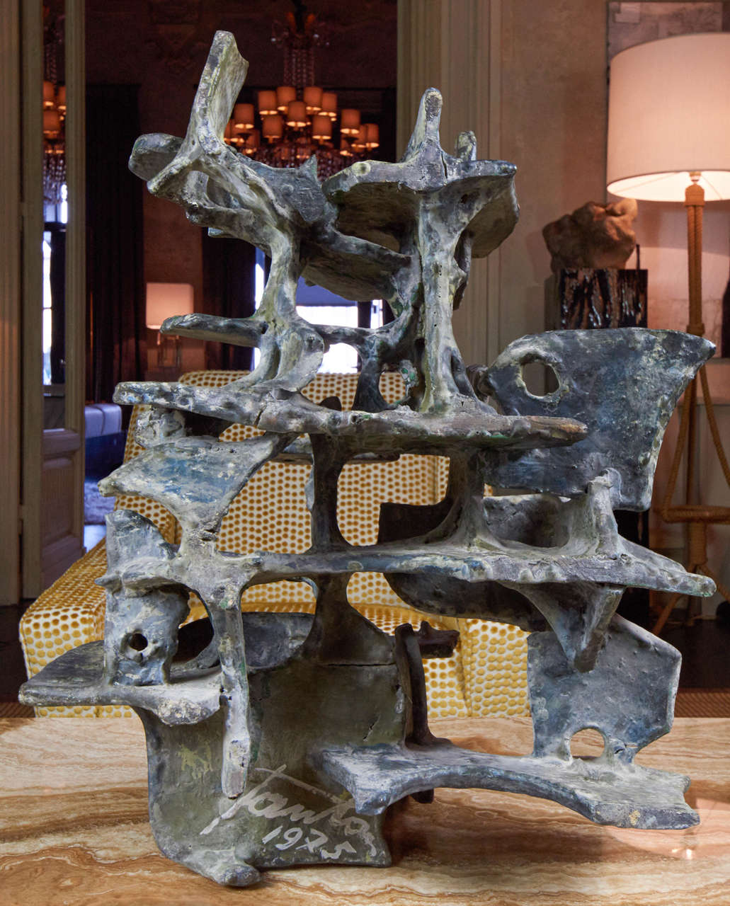 Marcello Fantoni Abstract Sculpture, 1975 In Excellent Condition For Sale In Firenze, IT