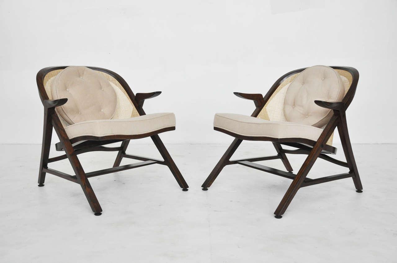 Dunbar a frame chairs by edward wormley at 1stdibs - Edward wormley chairs ...