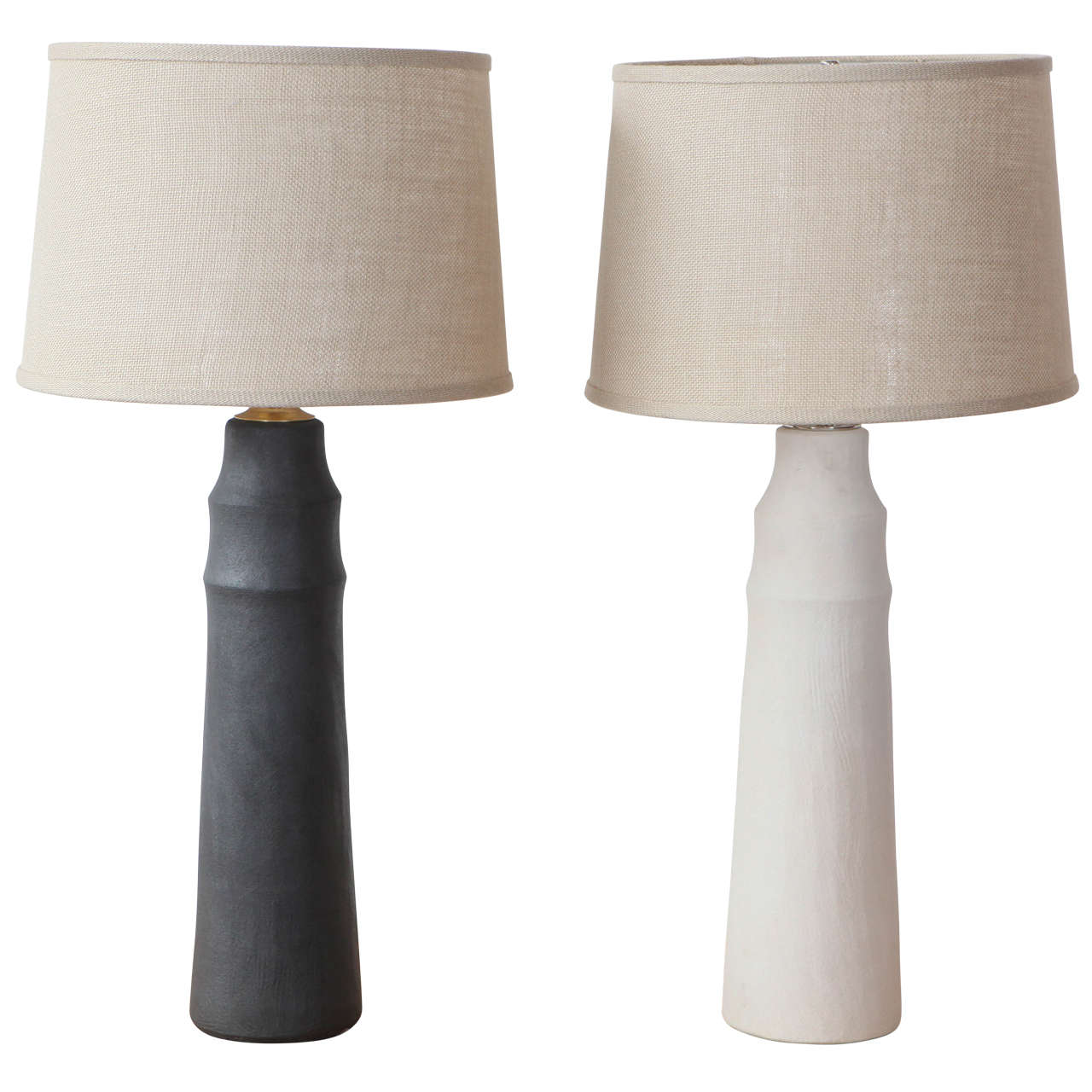 Mirena Kim Handmade Ceramic Table Lamps For Sale
