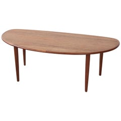 Tall Oblong Mid-Century Modern Coffee Table