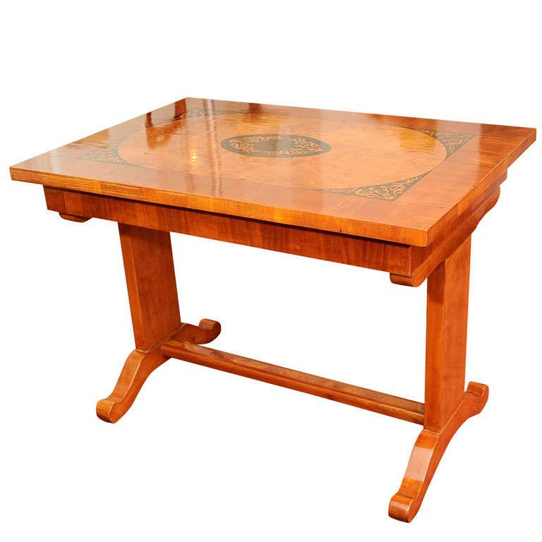 Biedermeier Game Table