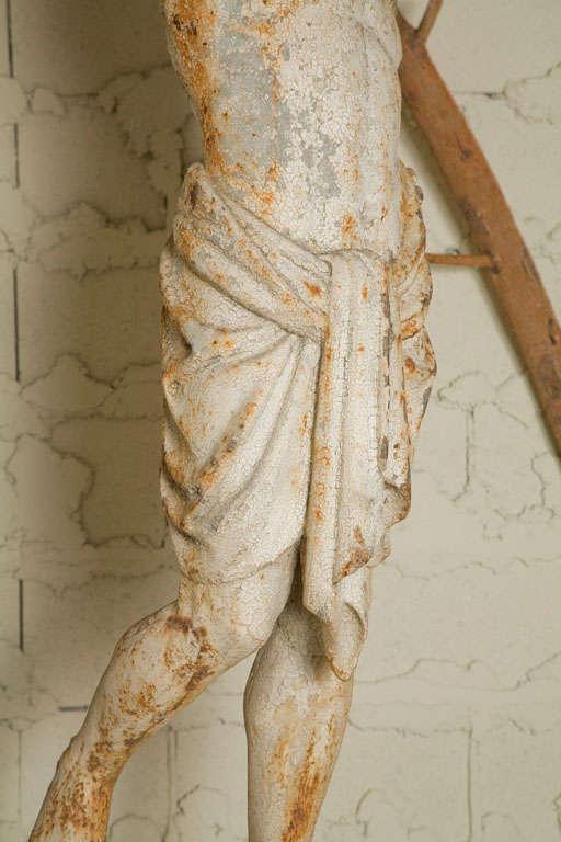 Cast Iron Statue of a Nubian Figure For Sale 3
