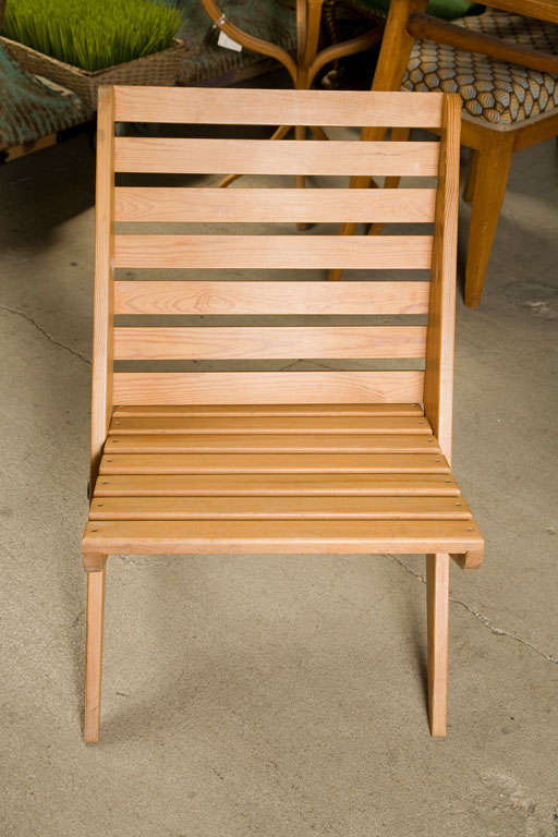 Swedish Pair of Plywood Chairs For Sale