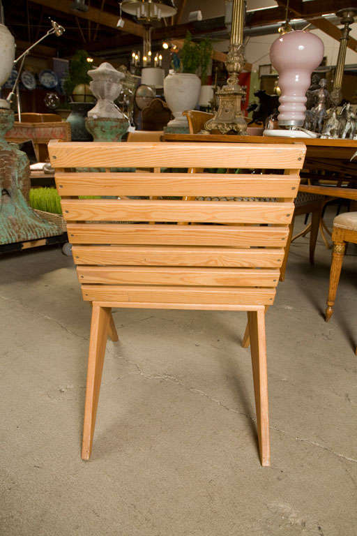 Pair of Plywood Chairs For Sale 1
