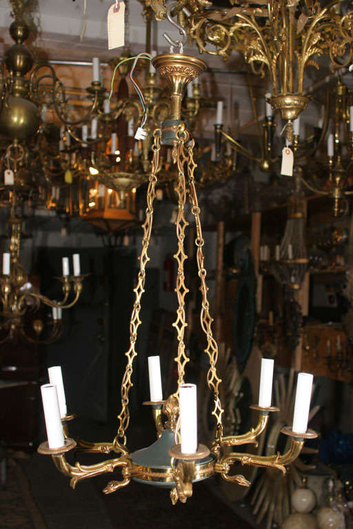 6 Armed Decorative French Chandelier Image 2