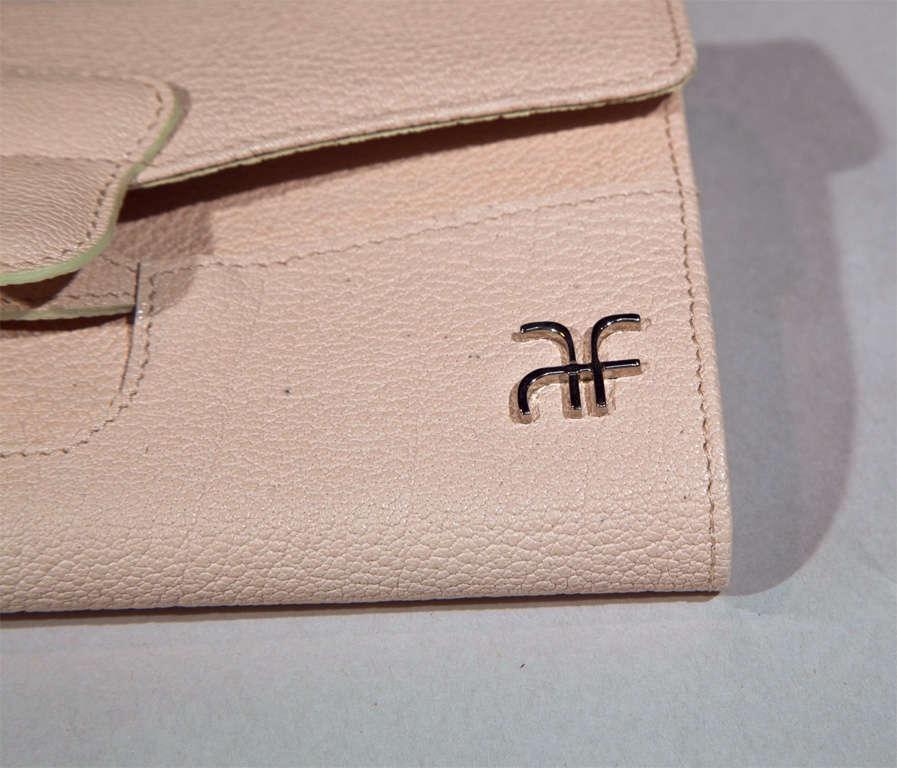 'Pretty in Pink' Clutch Wallet by Alberta Ferretti For Sale 2