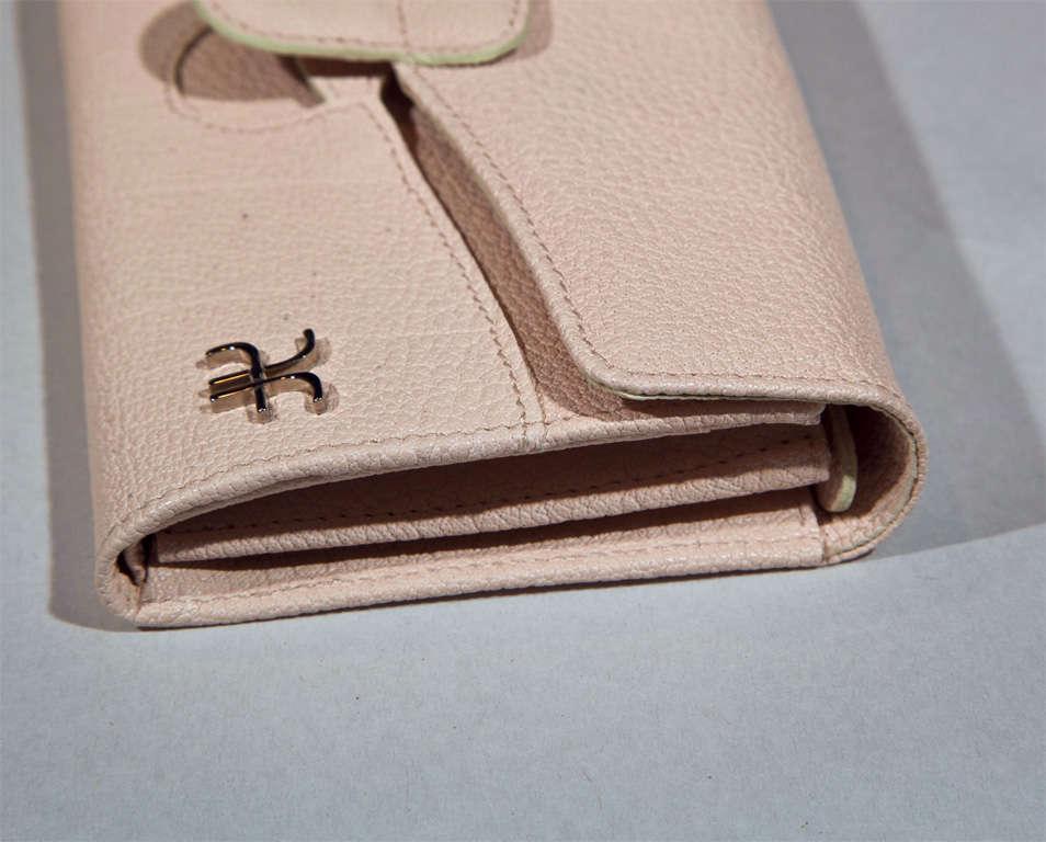 'Pretty in Pink' Clutch Wallet by Alberta Ferretti For Sale 3