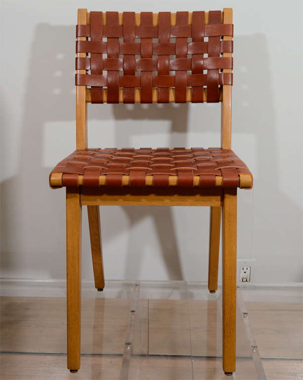 Jens Risom Set of Eight Chairs 2
