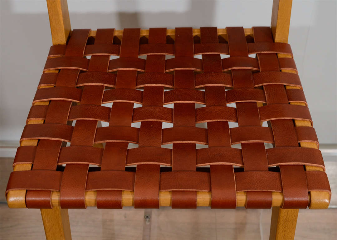 Jens Risom Set of Eight Chairs 4