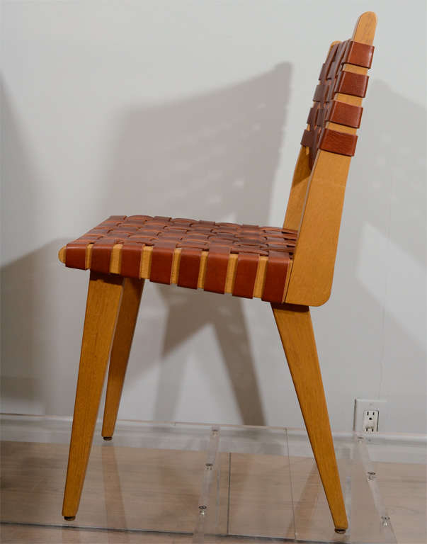 Jens Risom Set of Eight Chairs 5