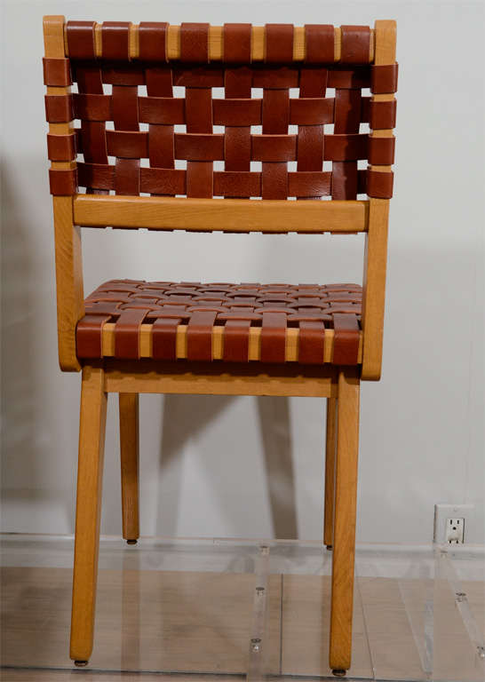 Jens Risom Set of Eight Chairs 7