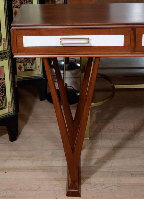 Italian Paolo Buffa Console For Sale
