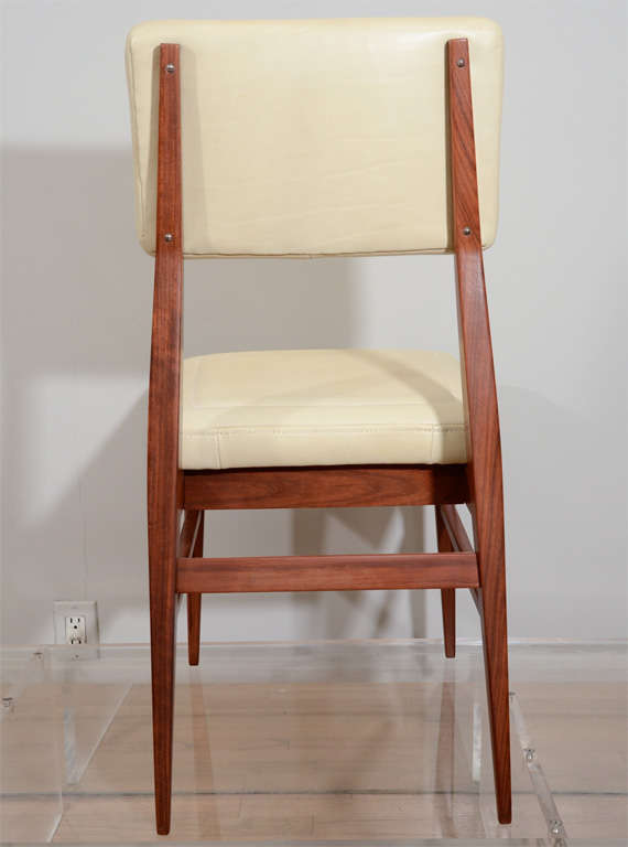 Leather Raphael Dining Chairs For Sale
