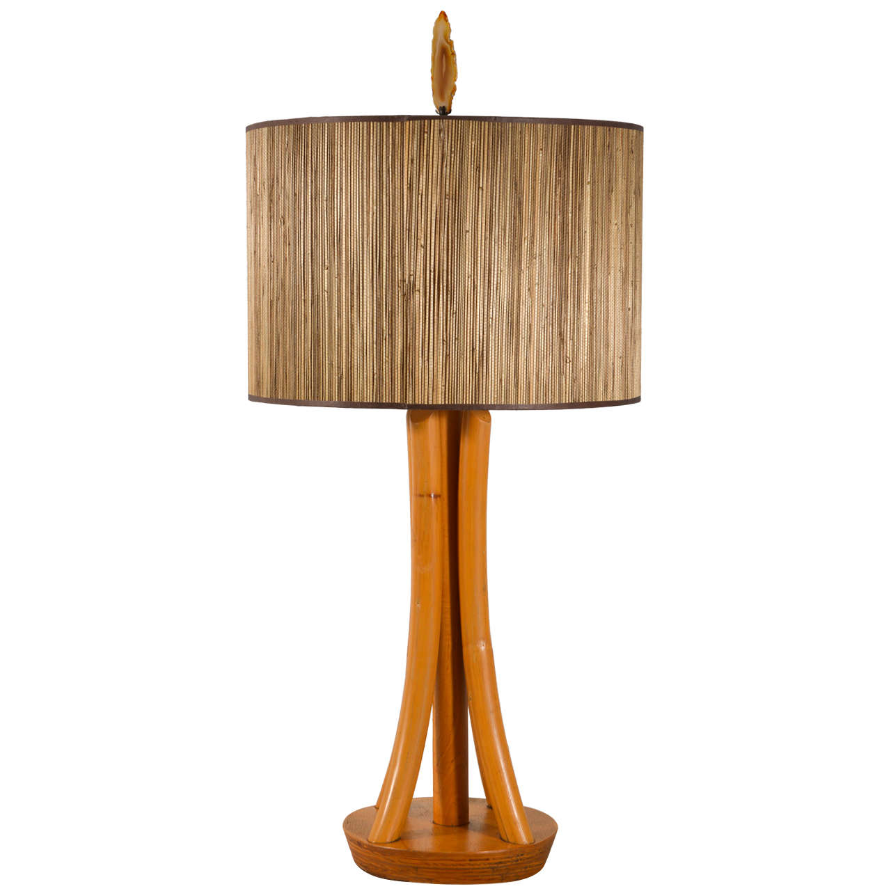 thonet style 1950s bentwood table lamp for sale at 1stdibs. Black Bedroom Furniture Sets. Home Design Ideas