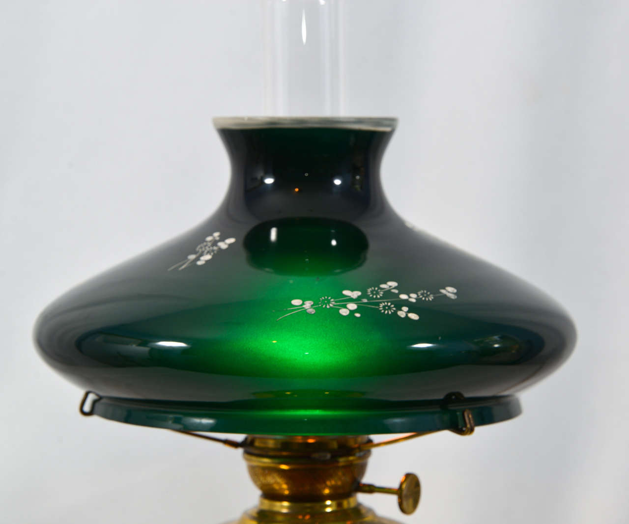1890 S Success Oil Lamp With Cased Glass Quot Dr S Lamp Quot At