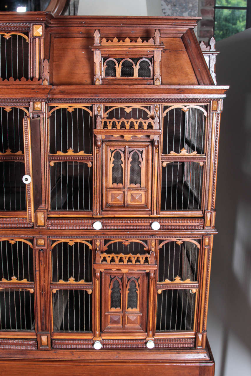 19th Century Wood Birdhouse For Sale 1