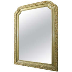 Gilt Polychrome Mirror