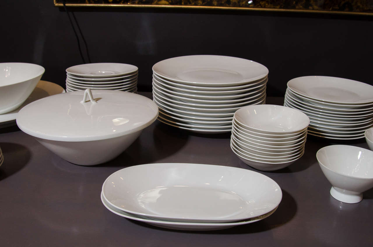 Mid Century Modern Rosenthal China Set For 12 Designed By