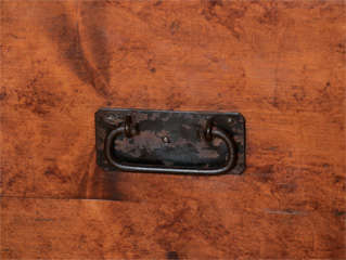 19th Century English Faux Grained Painted Trunk thumbnail 4