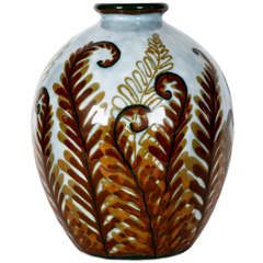 1960's vase in porcelain by Camille Tharaud