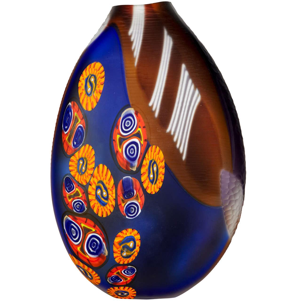 Huge Murano Glass Vase