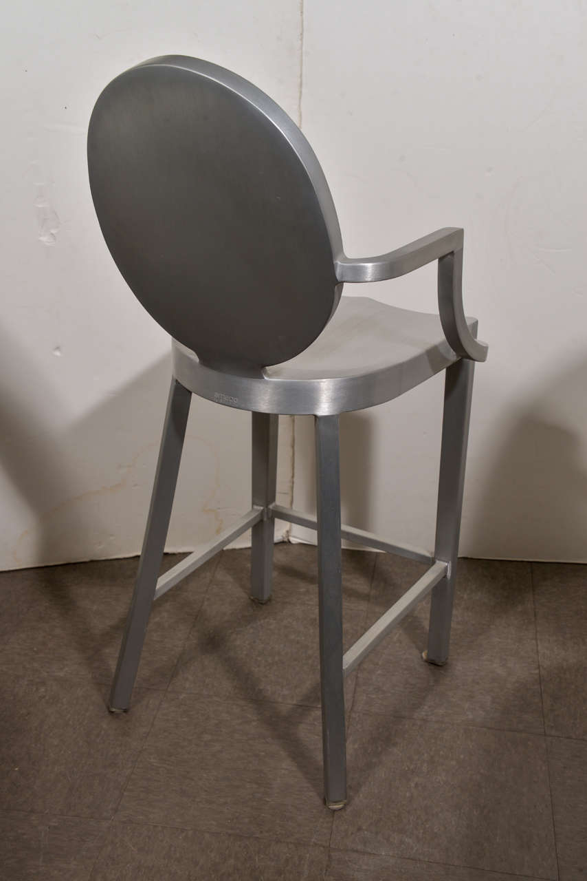 Set Of 4 Philippe Starck Counter Stools At 1stdibs