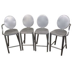 Set of 4 Philippe Starck counter stools