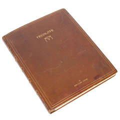 "Photograph Album by Bert C Thayer, ""Tecolote"", with watercolours by Ed Borein."