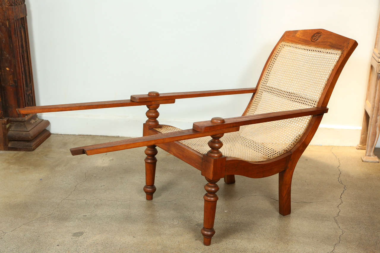 Anglo Indian Plantation Chairs At 1stdibs